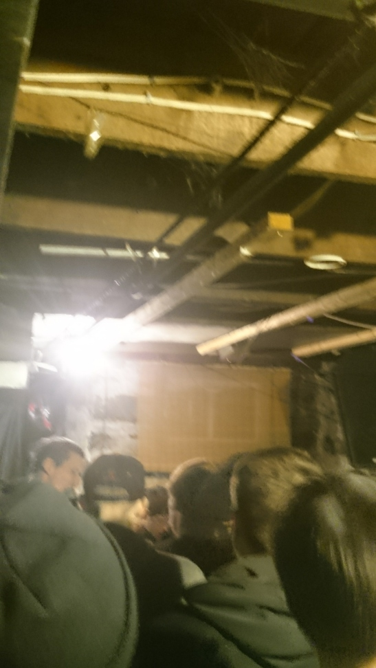 A terrible picture of Toronto band Soupcans